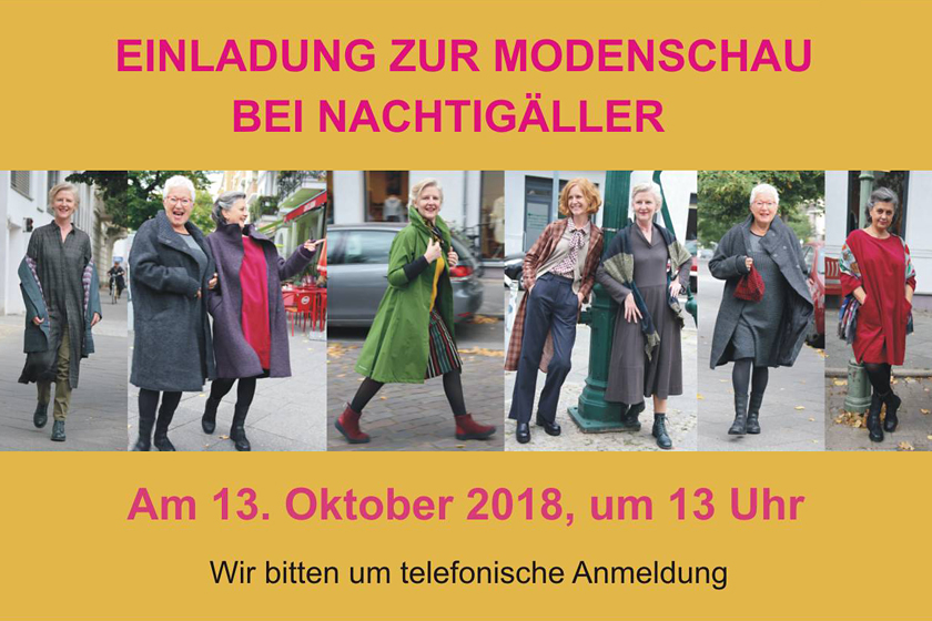 Herbst Modenschau 2018
