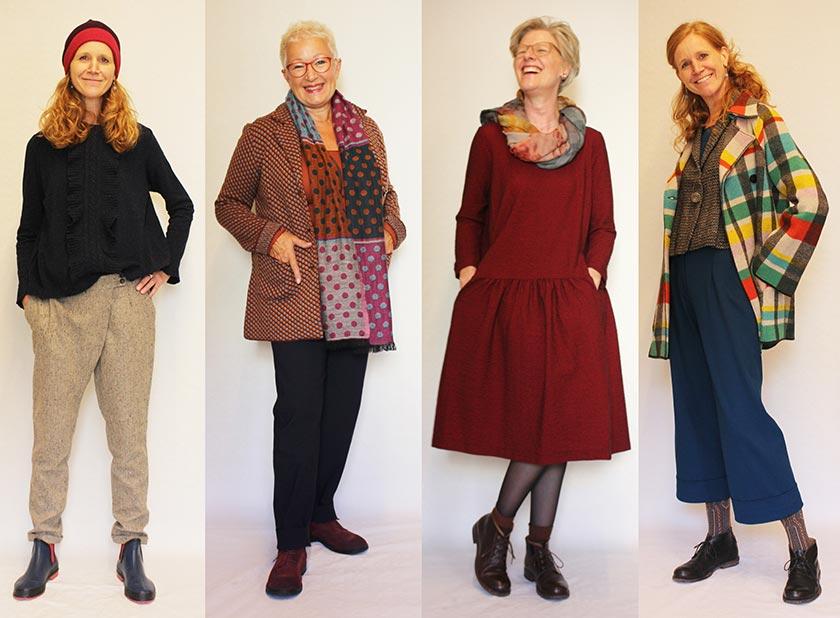 Natürliche Kleidung Herbst und Winter 2016